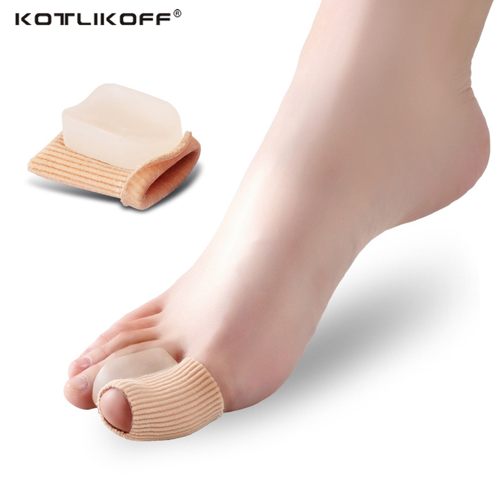 KOTLIKOFF Orthopedic Insoles Toes Protector Separator Insoles for Foot Valgus Bicyclic Thumb Orthopedic Braces Toe Corns Pads