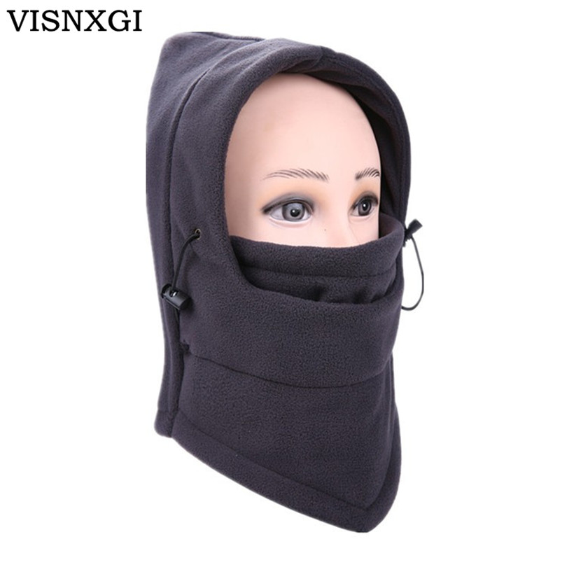 Fashion Winter Hat For Man And Woman Fleece Winter Face Mask Protected Ear Mask Hats Skullies Beanies Snowboard Cap 9 Colors