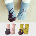 Hot Cute Toddler Baby Soft Socks Cartoon Owl Pattern Socks Infants Cotton Socks Kids Baby Warm Socks Floor Newborn