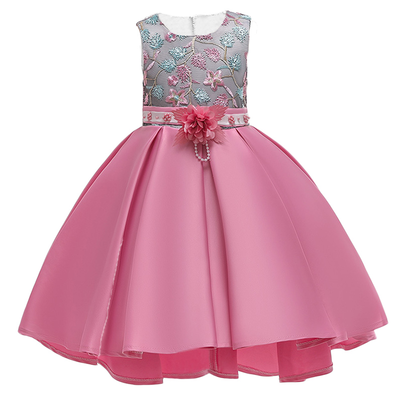 Flower     Girls     Dress   Elegant Summer Kids   Dresses   For   Girls   Children Evening Party   Dress   vestido infantil 3 4 5 6 7 8 9 10 Year