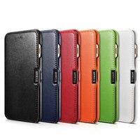 2017 Original ICARER Colorful Design Premium Genuine Luxury Flip Leather Case Cover For IPhone 7 Plus