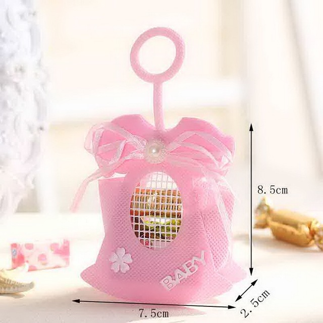 752585cm Baby Shower Favor Bags Candy Bags Gift Bags Fashion