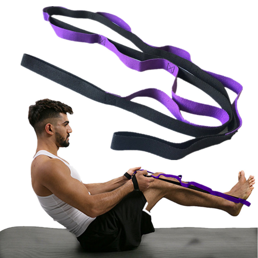 Strong-Willed Yoga Stretch Out Yoga Strap With 2m Flexible Loops Pilates Workouts Yoga Belts To Win A High Admiration
