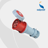 2015 New Hot Waterproof IP67 cee 63 amp industrial plug & socket 400V 63A,SP1117