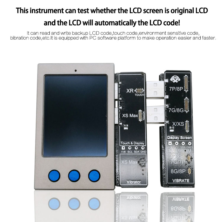 W13 LCD Ambient Light Sensor Vibrator Repair IP DISPLAY EEPROM Programmer for iPhone 7-XS/XSM XRW13 LCD Ambient Light Sensor Vibrator Repair IP DISPLAY EEPROM Programmer for iPhone 7-XS/XSM XR