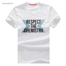 Respect the Chemistry New Fashion Men's T-shirts Cotton t shirts Man Clothing Wholesale