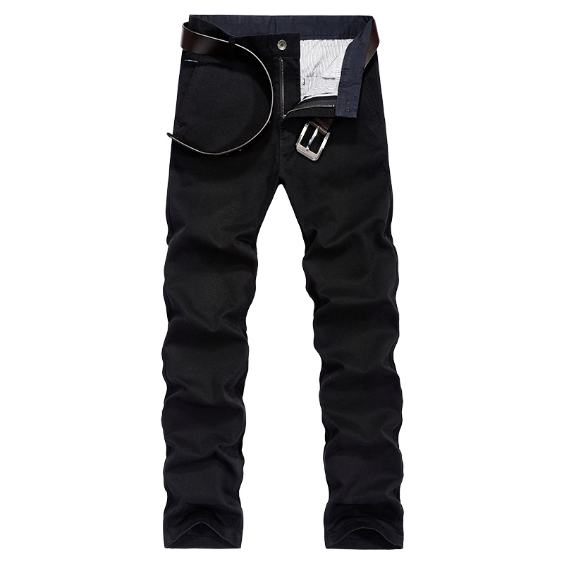 2019 Winter Clothes Designer Men High Quality Fleece Cargo Pants Thick Trouser Straight Fashion Clothes Men