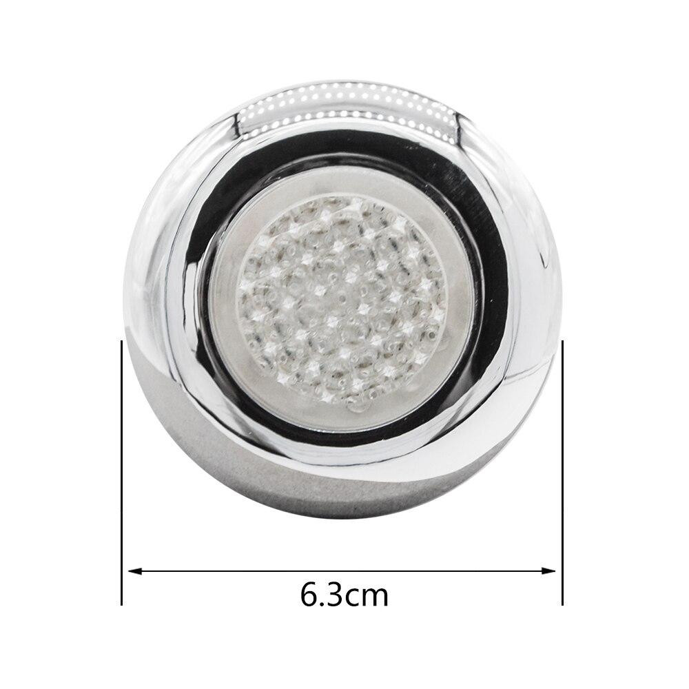 AC 12V multi color self changing LED light White Color LED Waterproof lighting for shower or bathtub underwater LED light in Shower Rooms from Home Improvement
