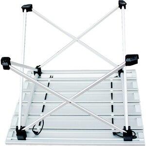 Image 3 - רגלי שולחן מתקפל כיסא שולחן הליכה שולחן אלומיניום קמפינג שולחן