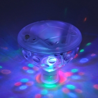 Underground Waterproof LED Changeable Color Disco Aqua Glow Light Decorative Lamp For Pool