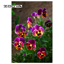ZOOYA Diamond Painting Full Square Flower 5D DIY Embroidery Sale Mosaic  Picture Of Rhinestones Needlework SF514