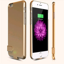 External Battery Portable Charger Power Bank Cover Case For iphone6 plus iphone 6 s plus Backup Charger Power Bank Battery case