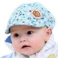 Niño bebé boy girl algodón sombrero lindo del sol del verano gorra de béisbol cap impreso enarboló cap