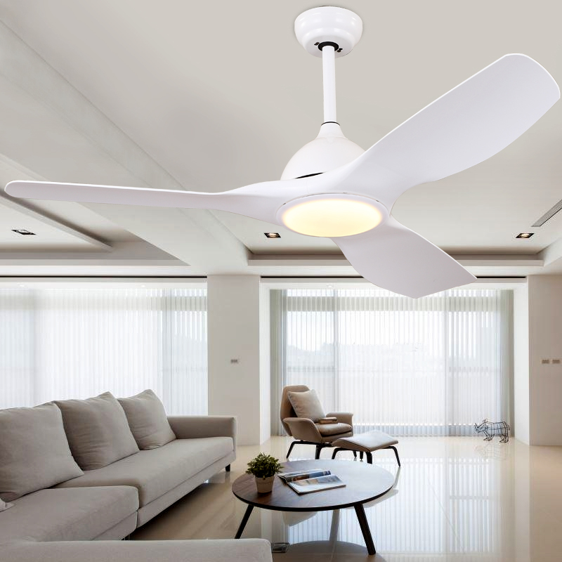 High Quality Nordic Creativity Ceiling Fans 220v Led Bedroom Ceiling Fans With Lights Remote Control Fan Lights Leather Bag