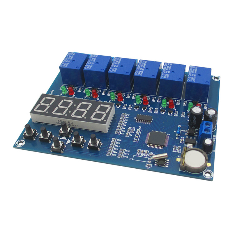 multiple timing module 5 relay time control board time module your money the missing manual