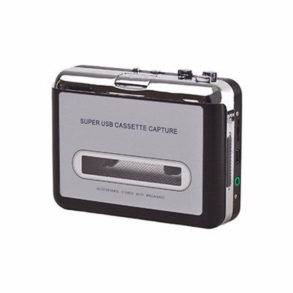 Cassette player USB Cassette to MP3 Converter Capture Audio Music Player Convert music For Microsoft For Windows