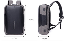 Multifunctional Waterproof 15.6 inch Laptop USB Charging Travel Backbag