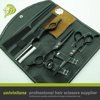 6.0 black left handed scissors hair scissors left handed hairdressing scissors left handed hair cutting shears barber shop set