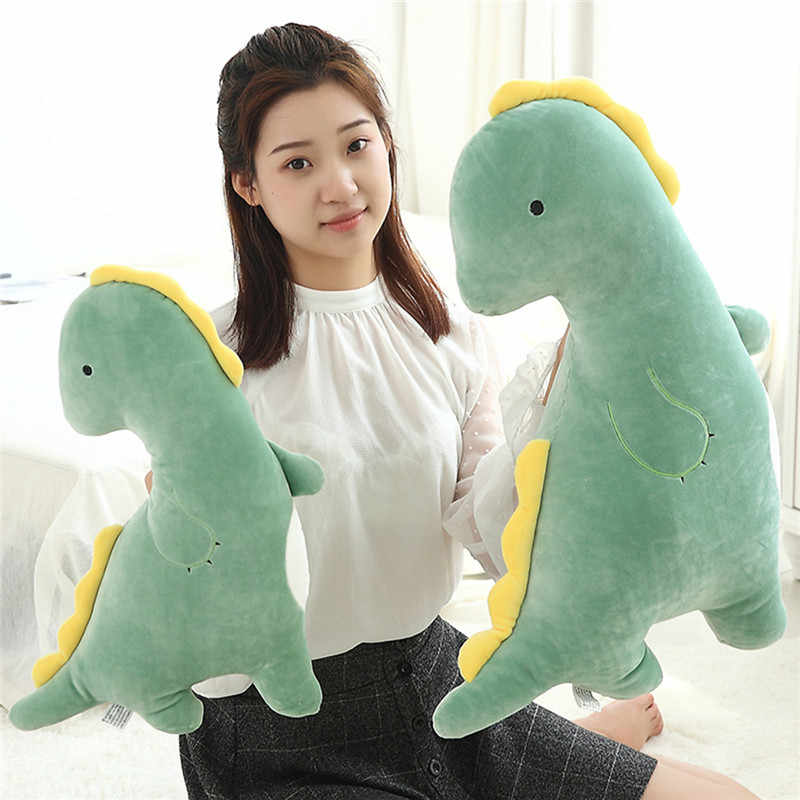 Dinossauro de Pelúcia macia Travesseiro Almofada Stuffed Plush Animais Dinossauro Brinquedos Bonecas Presentes de Aniversário Das Crianças Presentes 50/70 cm