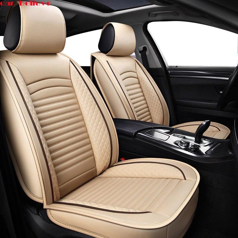 Car Believe Universal car seat cover For hyundai creta honda civic 2006 2011 opel vectra c camry 40 cushion cover for car seat