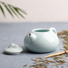 Xiechadao Ceramic kung fu tea pot celadon ceramics teapot single pot  creative home antique chinese clay pottery teapot