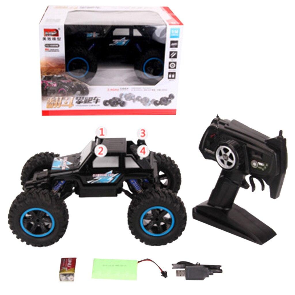 1/14 4WD RC camion tout-terrain véhicule 2.4G télécommande Buggy voiture sur chenilles