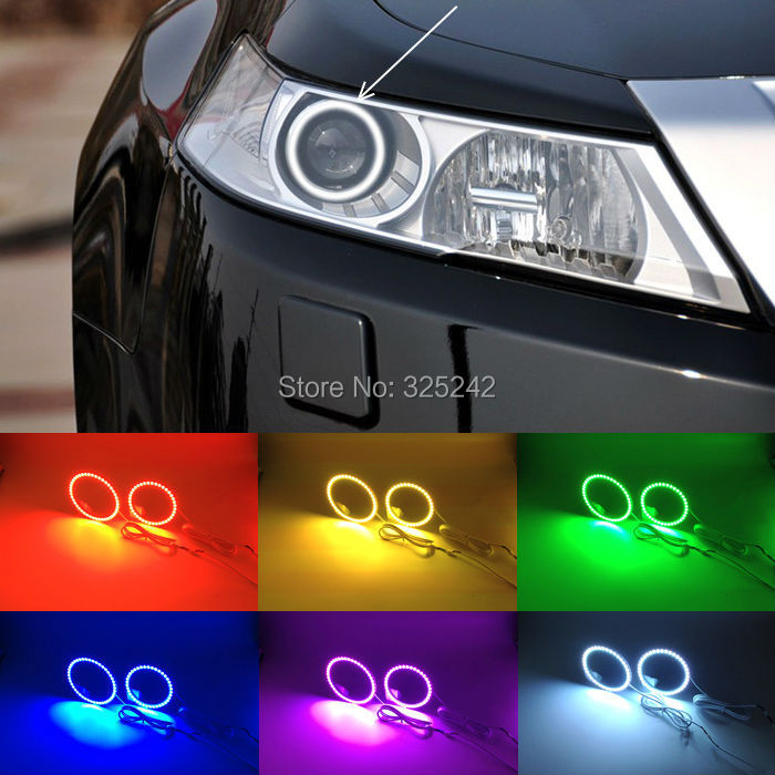 For Acura TL 2009 2010 2012 Excellent RGB Angel Eyes Kit