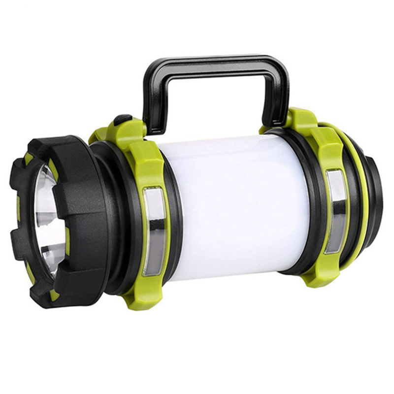 Rechargeable LED Camping Lantern Spotlight Waterproof 2600mAh Power Bank DC5V Multi-Functional Hiking Emergency kabo a5 2600mah portable power bank w strap for iphone 5 htc samsung black