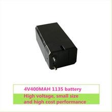1 шт. 4 в 400 мАч свинцово-кислотная аккумуляторная батарея, электрическая игрушечная лампа, фонарик от комаров, батареи