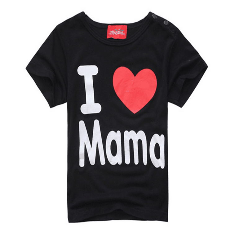 Fashion-Design-Summer-Thin-Short-Sleeve-Simple-Letter-Love-Mom-and-Dad-Baby-Cotton-Short-Sleeved-T-shirt-TST0015-3