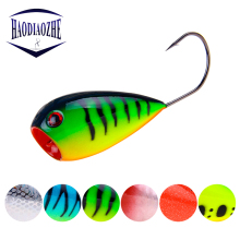 Купить с кэшбэком Fishing Lure 8cm 13.2g Floating Croatian EGG Bait Crank Bait Artificial Swim Bait Wobblers Fishing Popper Hard Bait Single Hook