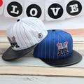 Письмо ребенок бейсболка 52-54 см мальчик и девочка вс hat милые девушки gorro шляпы игра дети открытый тень козырек 2-6year 10 шт.