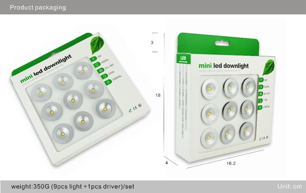 downlight 24g rgbcct quente branco led rf remoto 04
