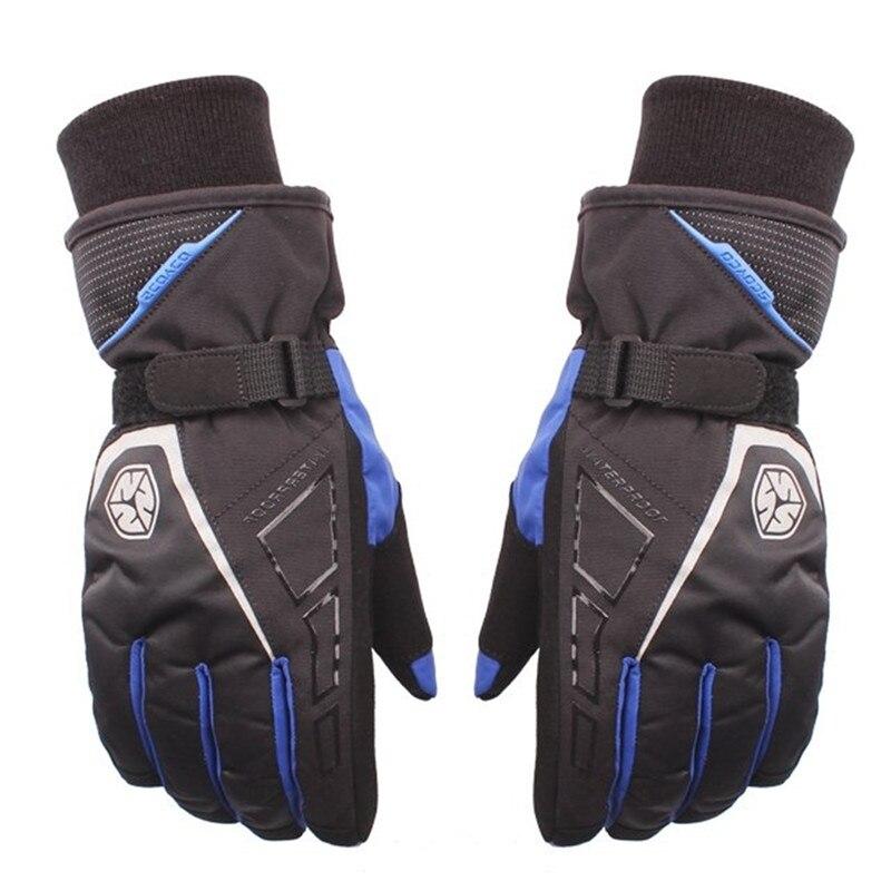 Scoyco Brand Motorcycle Sports Racing Gloves Winter Warm Waterproof Windproof Protective Gloves 100 Waterproof Guantes Luvas