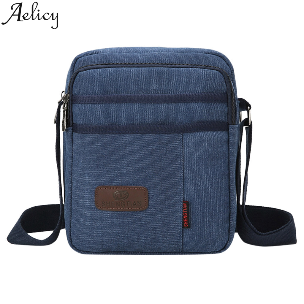 Inventive Aelicy 2019 Fashion Women Neutral Canvas Solid Color Outdoor Crossbody Shoulder Bags Messenger Bags Mobile Phone Bag For Sport Engagement & Wedding
