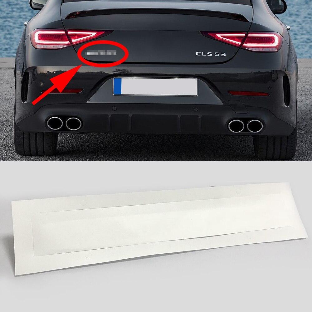 1-10 pcs For AMG Logo Rear Trunk Emblem Badge Sticker Decal For Mercedes Benz CLA E320 E230 E250 W211 E300 E320 E350 Car Styling