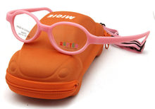 "Free Shipping "" Micra ""Brand Designer Pink Kids Glasses Carbon Fiber with Cute Car Case Kids Accessories Girls(China)"