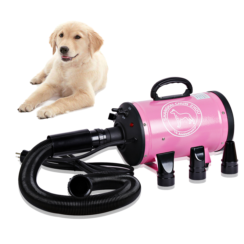 Pet hair dryer Pet water blower Dryer heater Air duct hair dryer Pet supplies Suitable for large and small dogs Pet artifact qingdao blower supplies household kitchen stoves special treatment for small boiler hair dryer