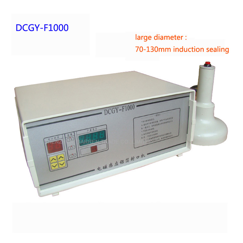1PC F1000 induction Aluminum Foil Sealing Equipment Hand held induction sealing machine  ...