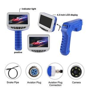 Image 2 - 4.3 インチ LCD 工業用内視鏡のための 8 ミリメートル 1080 HD マイクロビデオ検査カメラ自動車修理ツールヘビハードハンドヘルド内視鏡