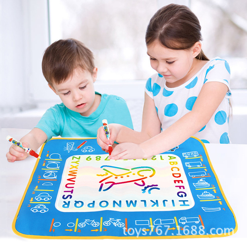 1 компл. Детские акварель с Магия рисунок пером игрушки игровой коврик Книги по искусству корабль весело Развивающие игрушки для рисования ...