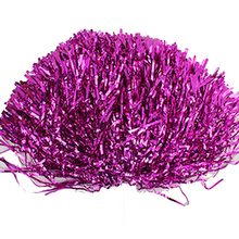 SZ-LGFM-Party Costume Sports Cheerleader Party Favors Flower Ball Pom Poms Hot New rose red