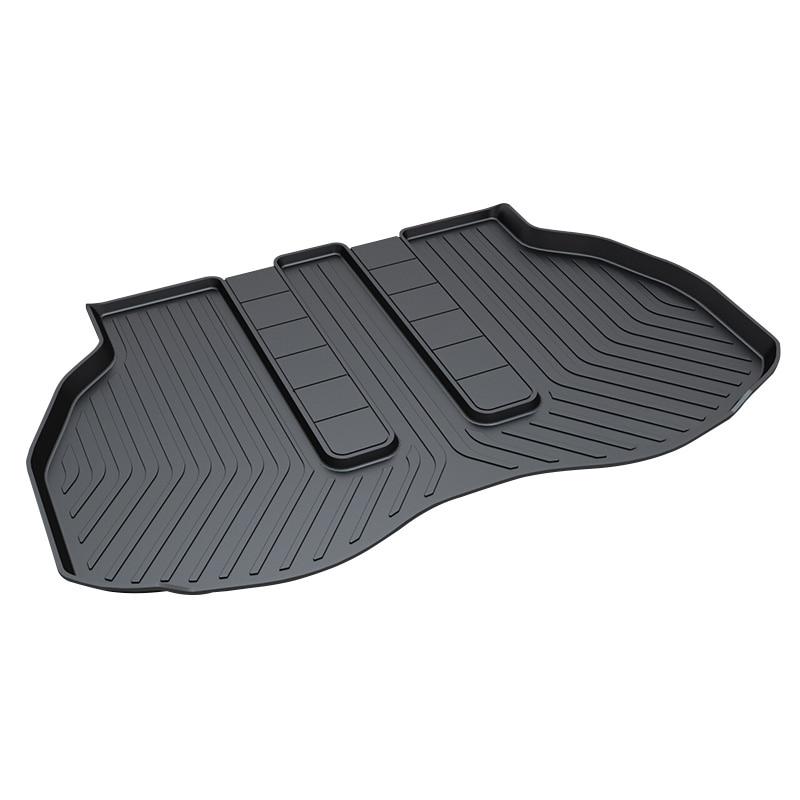 Car Trunk Tray Mat for Toyota Alphard,Premium Waterproof Pad ,Black for honda jazz trunk tray mat tpo waterproof anti slip car trunk carpet luggage cover black