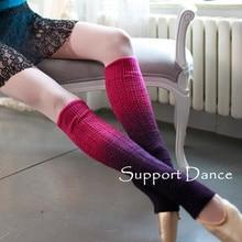 Support Dance Ballet Legwarmers Gradual Change Colors DKW16
