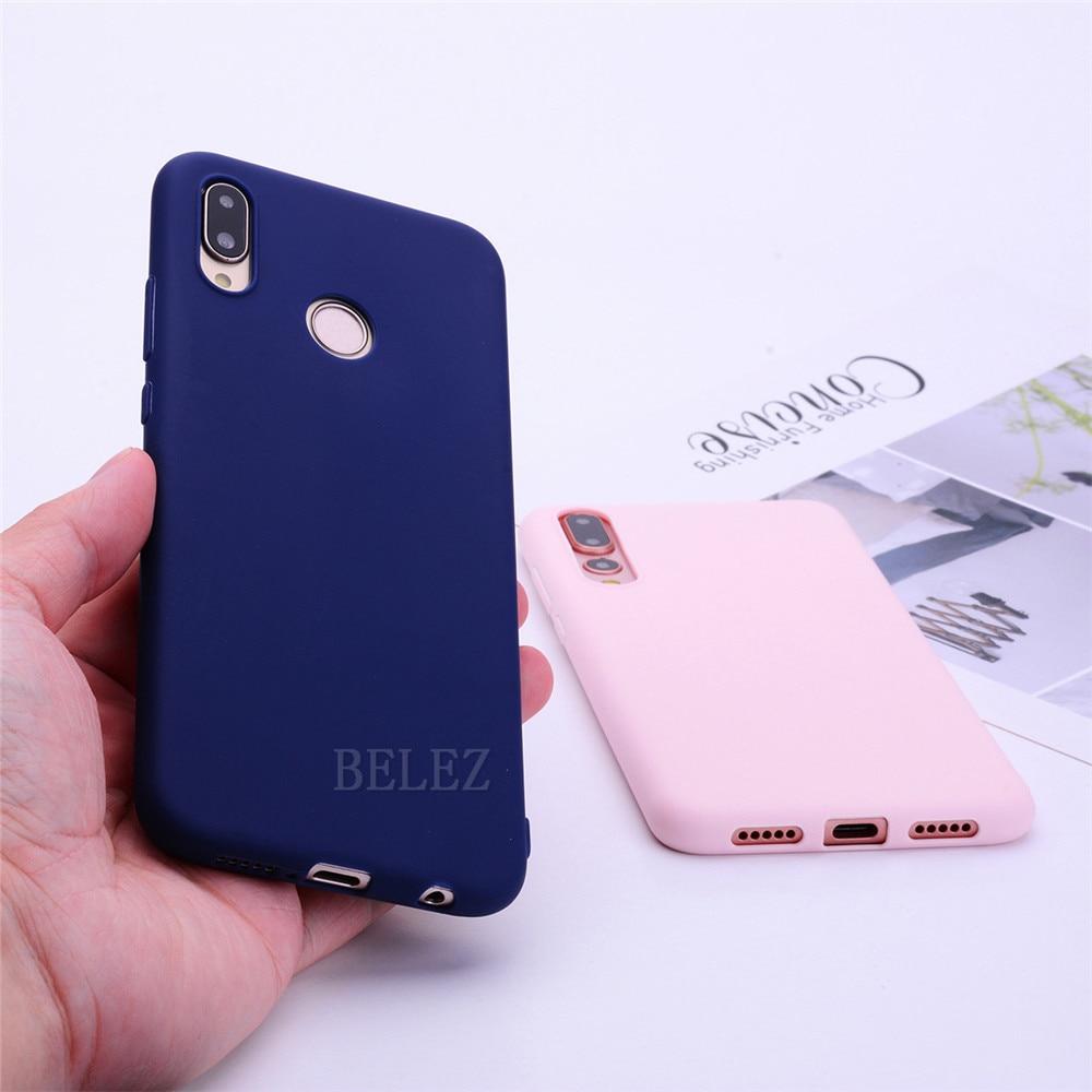 Soft TPU Candy Color Phone Case For Huawei P30 P20 Mate 20 Pro Lite P Smart Nova 4 Honor 8C 8X Max 7A 7C Y5 Y6 2018 Y9 2019 Case _15