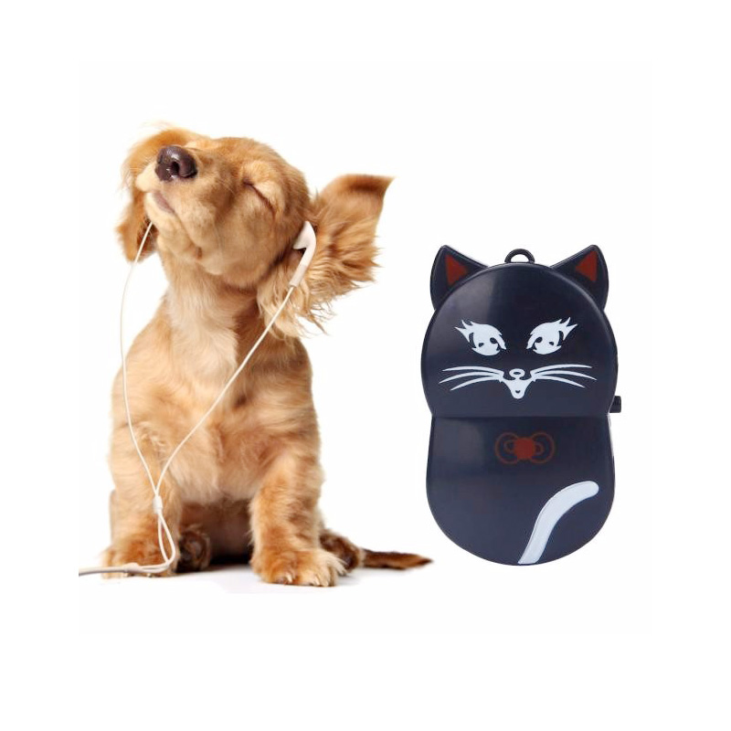 Lovely Cat Design MP3 Player Mini Portable Clip Music MP3 Player Used as a Micro SD/TF card reader Support 32GB SD Card #ORMK06(China)