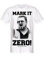 Tailored Shirts O Neck Short Sleeve The Big Lebowski T Shirt Mark It Zero Official Mens