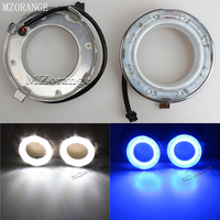 12V LED Daytime Running Light For Subaru Forester 2009 2010 2011 2012 With Blue Turning Singal