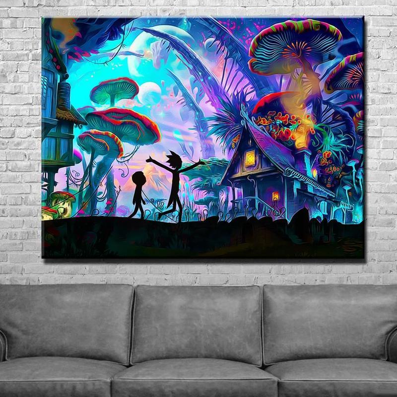The Office TV Series Silk Poster Wall Art Canvas Print Room Decor 12x18 24x36