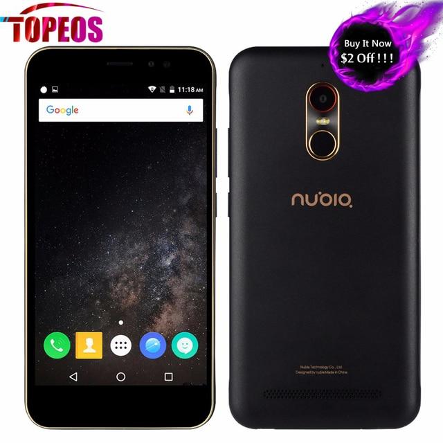 100% Original 5.5 '' Nubia N1 Lite MT6737 Quad Core SmartPhone 2GB RAM 16GB ROM 4G 13MP 3000mAh Android 6.0 Dual SIM Fingerprint
